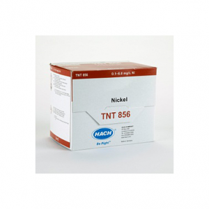 Hach TNT856 Thuốc thử Nickel TNT plus / Hach TNT856 TNTplus® Spectrophotometer Chemistry, Nickel, 0.1 to 6 mg/L; 25/PK